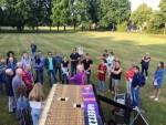 Te gekke ballonvlucht vanaf startlocatie Eindhoven dinsdag 26 juni 2018