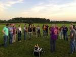 Fabuleuze luchtballon vaart startlocatie Eindhoven dinsdag 26 juni 2018