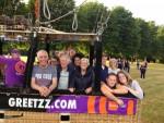 Bijzondere ballon vaart opgestegen in Eindhoven dinsdag 26 juni 2018