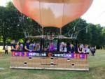 Adembenemende heteluchtballonvaart in de omgeving Eindhoven dinsdag 26 juni 2018