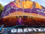 Verrassende luchtballonvaart regio Eindhoven dinsdag 26 juni 2018