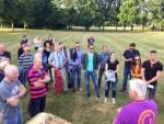 Mooie heteluchtballonvaart over de regio Eindhoven dinsdag 26 juni 2018