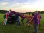 Unieke ballon vlucht in de buurt van Eindhoven dinsdag 26 juni 2018