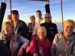 Professionele heteluchtballonvaart in de regio Erica dinsdag 26 juni 2018