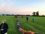 Verbluffende ballonvlucht in de omgeving van Erica dinsdag 26 juni 2018