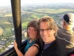 Uitmuntende ballonvaart over de regio Nijmegen dinsdag 26 juni 2018