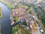Majestueuze heteluchtballonvaart opgestegen in Nijmegen dinsdag 26 juni 2018