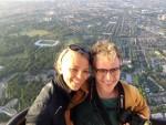 Onovertroffen heteluchtballonvaart opgestegen op startlocatie Nijmegen dinsdag 26 juni 2018
