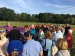 Verrassende heteluchtballonvaart gestart in Veenendaal dinsdag 26 juni 2018