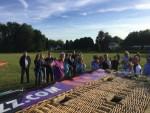 Mooie ballon vaart vanaf startlocatie Veenendaal dinsdag 26 juni 2018