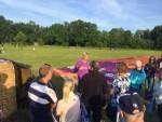 Onovertroffen luchtballon vaart regio Veenendaal dinsdag 26 juni 2018