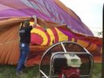 Voortreffelijke ballonvaart opgestegen op opstijglocatie Deurne op dinsdag 28 augustus 2018