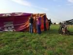 Perfecte ballonvlucht opgestegen in Deurne op dinsdag 28 augustus 2018