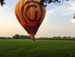 Feestelijke luchtballonvaart gestart in Deurne op dinsdag 28 augustus 2018