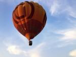 Indrukwekkende ballonvlucht gestart op opstijglocatie Deurne op dinsdag 28 augustus 2018