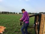 Fenomenale luchtballon vaart opgestegen op startlocatie Deurne op dinsdag 28 augustus 2018