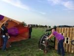Perfecte ballonvlucht in de omgeving van Deurne op dinsdag 28 augustus 2018