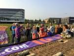 Geweldige ballon vaart in de omgeving van Gorinchem op dinsdag 28 augustus 2018