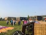 Comfortabele ballonvaart vanaf startlocatie Gorinchem op dinsdag 28 augustus 2018
