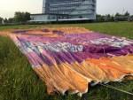 Schitterende luchtballon vaart omgeving Gorinchem op dinsdag 28 augustus 2018