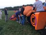 Verbluffende heteluchtballonvaart opgestegen op startlocatie Gorinchem op dinsdag 28 augustus 2018