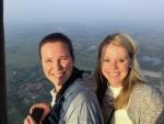 Comfortabele ballon vlucht gestart in Gorinchem op dinsdag 28 augustus 2018