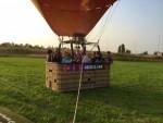 Schitterende ballon vaart opgestegen op opstijglocatie Veghel op dinsdag 28 augustus 2018