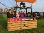 Fantastische ballonvlucht over de regio Veghel op dinsdag 28 augustus 2018