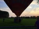 Formidabele ballon vlucht over de regio Veghel op dinsdag 28 augustus 2018