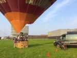Weergaloze ballon vlucht vanaf startlocatie Veghel op dinsdag 28 augustus 2018