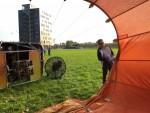 Uitmuntende ballon vlucht opgestegen op startlocatie Veghel op dinsdag 28 augustus 2018