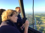 Weergaloze luchtballonvaart startlocatie Leek dinsdag 3 juli 2018