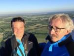 Magnifieke heteluchtballonvaart gestart op opstijglocatie Leek dinsdag 3 juli 2018