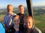 Verbluffende luchtballonvaart in Leek dinsdag 3 juli 2018