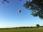 Relaxte ballon vlucht in de omgeving van Leek dinsdag 3 juli 2018
