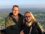 Grandioze heteluchtballonvaart vanaf opstijglocatie Nijmegen op dinsdag 30 april 2019