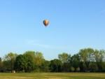 Relaxte ballon vlucht gestart in Nijmegen op dinsdag 30 april 2019