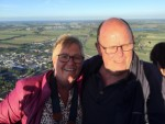 Ultieme ballonvlucht in de regio Joure dinsdag 31 juli 2018