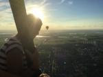 Plezierige heteluchtballonvaart opgestegen in Joure dinsdag 31 juli 2018