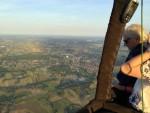 Feestelijke ballonvaart boven de regio Hoogland dinsdag 31 juli 2018