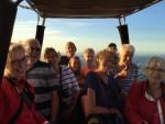 Verbluffende luchtballonvaart over de regio Hoogland dinsdag 31 juli 2018