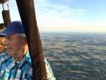 Relaxte luchtballonvaart in de omgeving Hoogland dinsdag 31 juli 2018