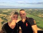Te gekke luchtballonvaart startlocatie Maastricht dinsdag 31 juli 2018