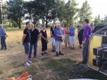 Uitzonderlijke heteluchtballonvaart opgestegen op startlocatie Maastricht dinsdag 31 juli 2018