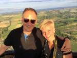 Formidabele luchtballon vaart vanaf opstijglocatie Maastricht dinsdag 31 juli 2018