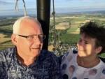 Heerlijke ballonvaart gestart op opstijglocatie Maastricht dinsdag 31 juli 2018