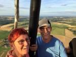 Heerlijke heteluchtballonvaart in de regio Maastricht dinsdag 31 juli 2018