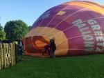 Formidabele heteluchtballonvaart in de omgeving Asten dinsdag 5 juni 2018