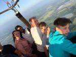 Geweldige ballonvlucht opgestegen op startveld Asten dinsdag 5 juni 2018