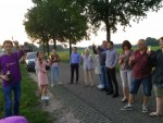 Spectaculaire luchtballonvaart vanaf startlocatie Asten dinsdag 5 juni 2018